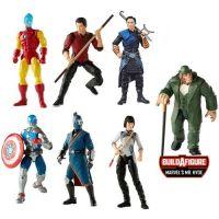 Marvel Legends Shang-Chi Mr. Hyde BAF Series Set of 7 Figures (Shang-Chi, Wenwu, Xia Ling, Civil Warrior, Death Dealer, Iron Man) Hasbro