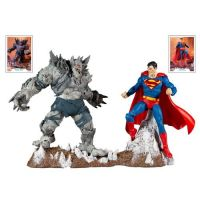 DC Collector 7-inch - Batman Earth-1 The Devastator & Superman 2-pack McFarlane Toys