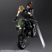 Final Fantasy VII Remake Jessie, Cloud, and Motorcycle Action Figure Square Enix 908670