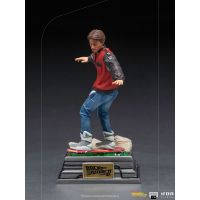 Marty McFly on Hoverboard 1:10 Scale Statue Iron Studios 908763