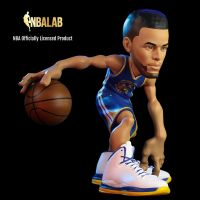 Stephen Curry SmALL-STARS 12-inch Collectible Figure Base4 Ventures 908740
