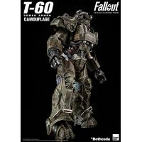 Fallout T-60 Armure de puissance camouflée Figurine échelle 1:6 Threezero 908743