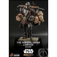 The Mandalorian and Grogu (Deluxe Version) 1:6 Scale Figure Set Hot Toys 908289