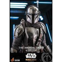 The Mandalorian and Grogu (REGULAR VERSION) 1:6 Scale Figure Set Hot Toys 908754