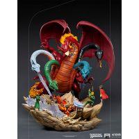 Dungeons & Dragons Tiamat Battle 1:20 Scale Diorama Iron Studios 908727
