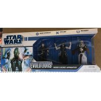 Star Wars The Legacy Collection Evolution Vader's secret apprentice (2008) 3_75 pouces ensemble de 3 figurine Hasbro