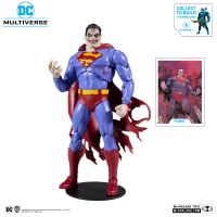 DC Multiverse Superman the Infected (BAF The Merciless) 7-inch scale action figure McFarlane Toys