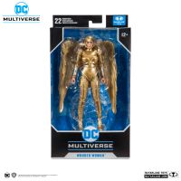 DC Multiverse Wonder Woman Gold Armor (1984) 7-inch scale action figure McFarlane Toys