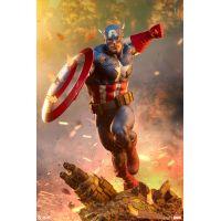 Captain America Premium Format Figure Sideshow Collectibles 300765