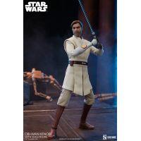 Star Wars The Clone Wars Obi-Wan Kenobi 1:6 Scale Figure Sideshow Collectibles 100463