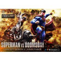 Superman VS Doomsday (DELUXE VERSION) 1:3 Scale Statue Prime 1 Studio 909139