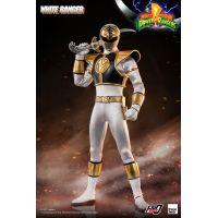 Mighty Morphin Power Rangers White Ranger 1:6 Scale Figure Threezero 908846
