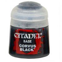 Citadel paint Base Corvus Black Games-Workshop