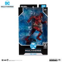 DC Multiverse Zack Snyder Justice League Flash 7-inch McFarlane Toys