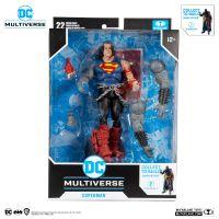 DC Multiverse Dark Nights Death Metal 7-inch - Superman (Darkfather Build-A) McFarlane
