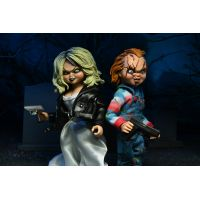Bride of Chucky – Chucky & Tiffany (2-Pack) 8-inch Scale Clothed Figure NECA 42121