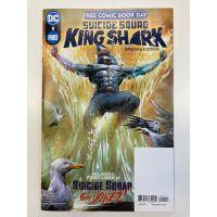 Suicide Squad King Shark Special Edition #1FCBD Free Comic Book Day 2021 DC Comics