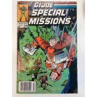 G.I. Joe Special Missions #4 (1987) G-VG Marvel Comics