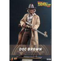 Back to the Future III Doc Brown 1:6 Scale Figure Hot Toys 909370
