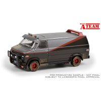 The A-Team 1983 GMC Vandura Weathered version 1:18 scale diecast Greenlight Collectibles 13567