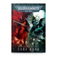 Warhammer 40,000 Core Rule Book - In the grim darkness of far future there is only war (English version) Games-Workshop ISBN 978-1-78826-986-5