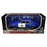 Royal Canadian Mounted Police RCMP 1986 Dodge Diplomat 1:24 scale Motor Max
