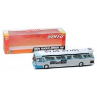 Speed 1960s General Motors TDH #2525 Los Angeles Bus 1:43 scale diecast Greenlight Collectibles 86544