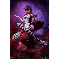 Alice in Wonderland: Game of Hearts Edition Statue Sideshow Collectibles 2005062