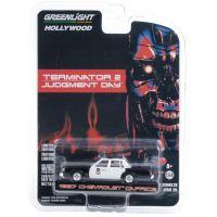 Terminator 2 1987 Chevrolet Caprice Police échelle 1:64 Greenlight 44890-F