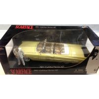 Scarface 1963 Cadillac Series 62 Limited Edition 1:18 Jada Toys 90003