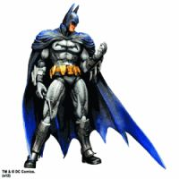 Batman Arkham City Play Arts Kai  Batman 10 inches