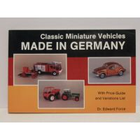 Classic miniature vehicles MADE IN GERMANY