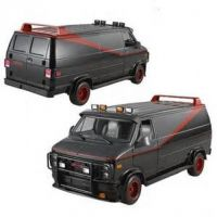 A-Team Heritage Van  1:18 Hot Wheels Die-Cast
