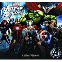 Avengers Assemble 2015 16 Month Wall Calendar