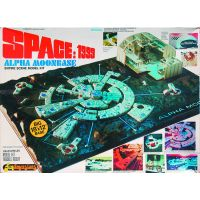 Space 1999 Moon Base Alpha 1/3200 Scale Model Kit