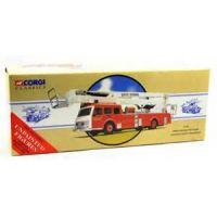 Camion pompier Simon Snorkel Cleveland County Fire Brigade Corgi Classics 97399