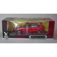 Yat Ming 95028 Pontiac Vibe GTR 2003 1:18 (rouge métallique)
