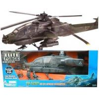 US Army AH-64 Apache helicopter 1:18 Elite Forces 21249