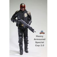 Judge Dredd (artistic interpretation) Heavy Armoured Special Cop 2.0 figurine 1:6 Art Figures AF-022