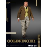 James Bond Auric Goldfinger figurine échelle 1:6 BIG Chief Studios 902967