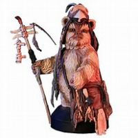 Star Wars Logray Ewok Medicine Man Collectible mini bust Gentle Giant 80152