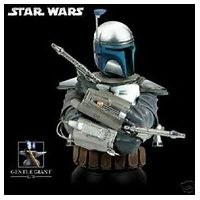 Star Wars Jango Fett Collectible mini bust Gentle Giant 9070