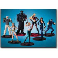 Danger Girl The Dangerous Seven-Piece PVC Set figurines DC Direct