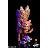 Les Gardiens de la Galaxie Rocket and Groot Treehugger Vinyl Collectible Mondo 903061