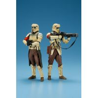 Star Wars Rogue One Scarif Shoretrooper Squad Leader & Captain Ensemble de 2 Figurines Artfx Statue Échelle 1:10 Kotobukiya