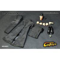 Hacker World ensemble de vêtements pour figurine échelle 1:6 (Matrix) CM Toys H001