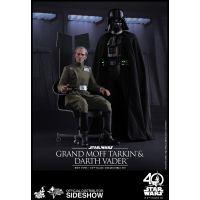 Star Wars �pisode IV: A New Hope Grand Moff Tarkin et Darth Vader Hot Toys 903162