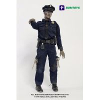 Officer Zombie figurine échelle 1:6 Bomtoys