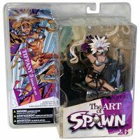 Spawn The Art of Spawn Série 26 Tiffany 3 issue 45 art figurine McFarlane