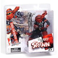 Spawn The Art of Spawn Série 27 Issue 131 Cover Art Spawn figurine McFarlane